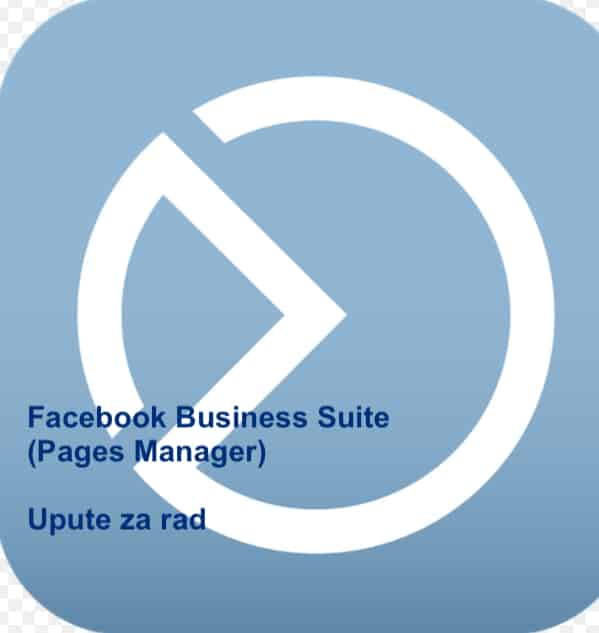 Facebook Business Suite Pages Manager-upute za rad